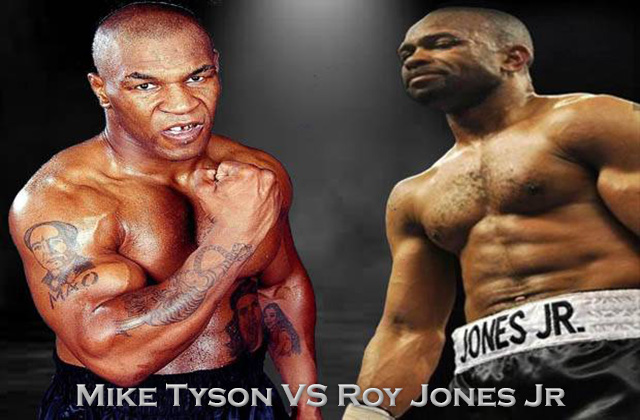 Ramai Mike Tyson VS Roy Jones Jr